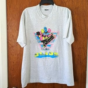Vintage Single Stitch Rollerblade Graphic T Shirt